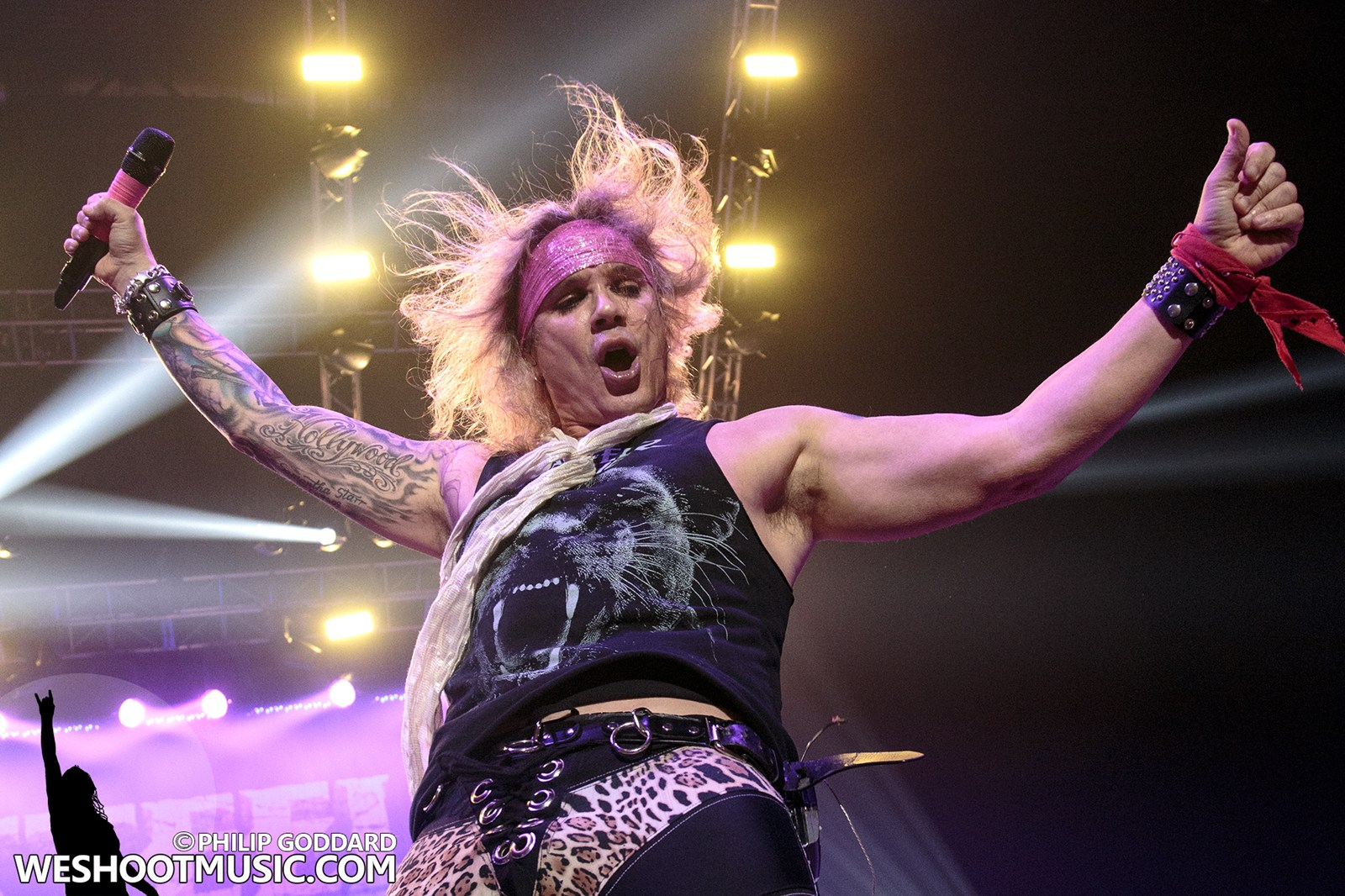STEEL PANTHER - 20 - MANCHESTER ARENA