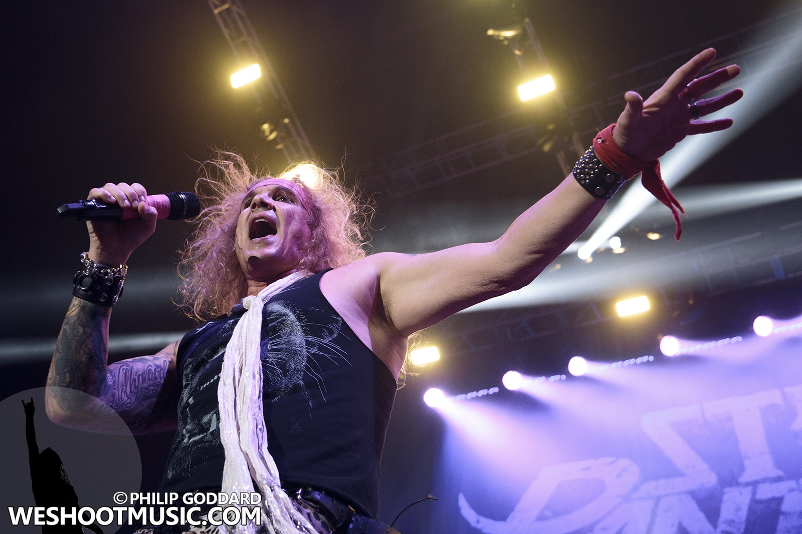 STEEL PANTHER - 21 - MANCHESTER ARENA