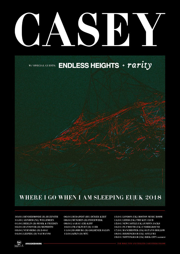 CASEY announce European Tour