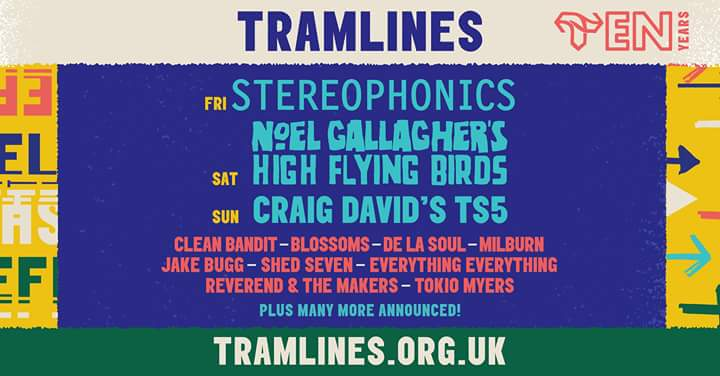 New Acts announced at Tramlines Festival