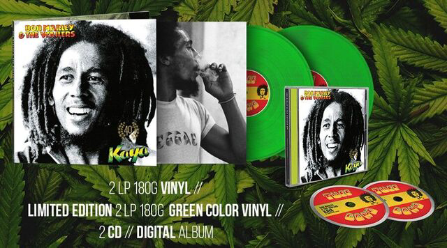 Celebrating 40 years since the release of Bob Marley's 'Kaya'  Anniversary edition remixed and reimagined by Stephen Marley