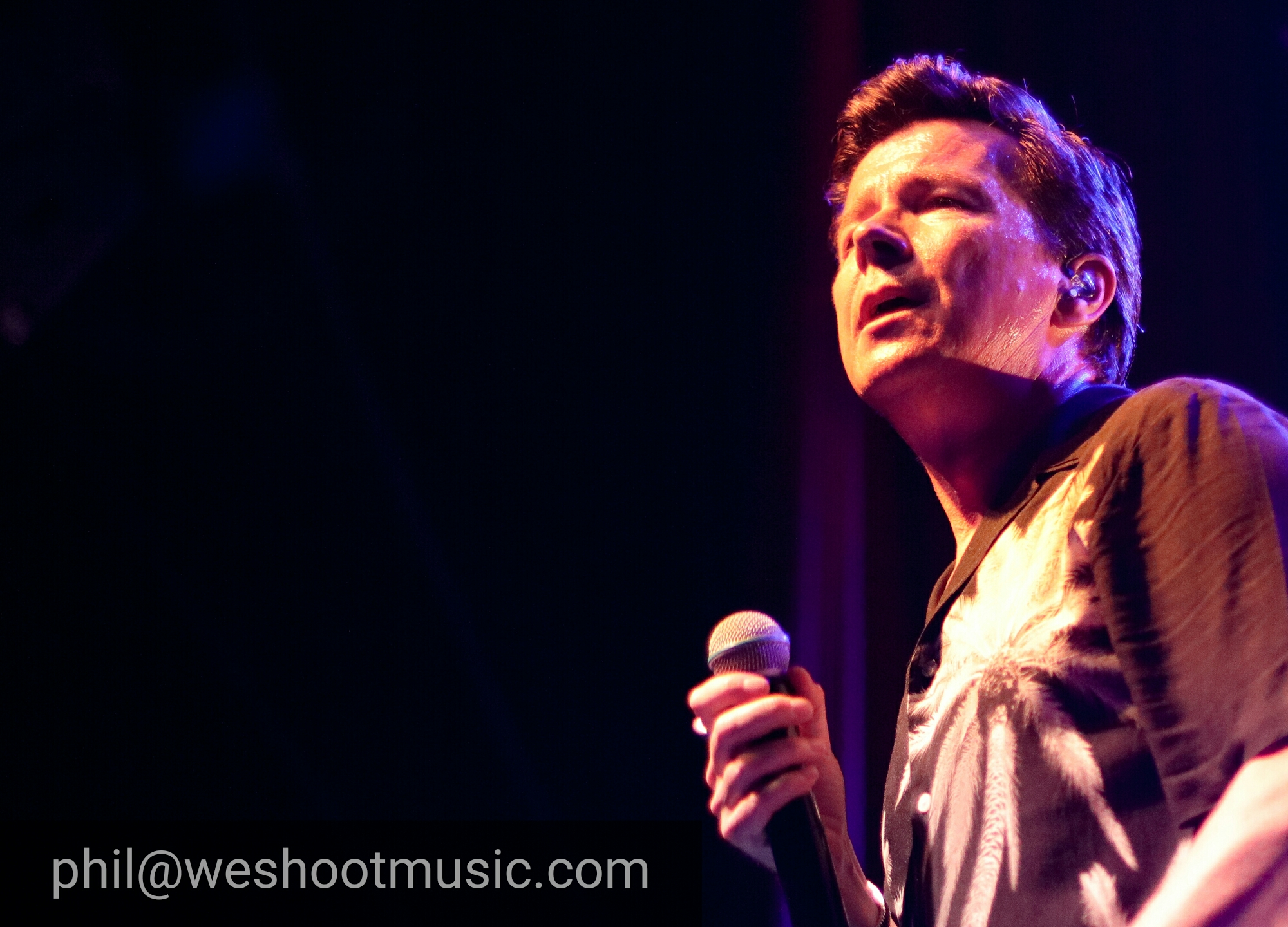 Rick Astley at O2 Ritz Manchester July 17th 2018