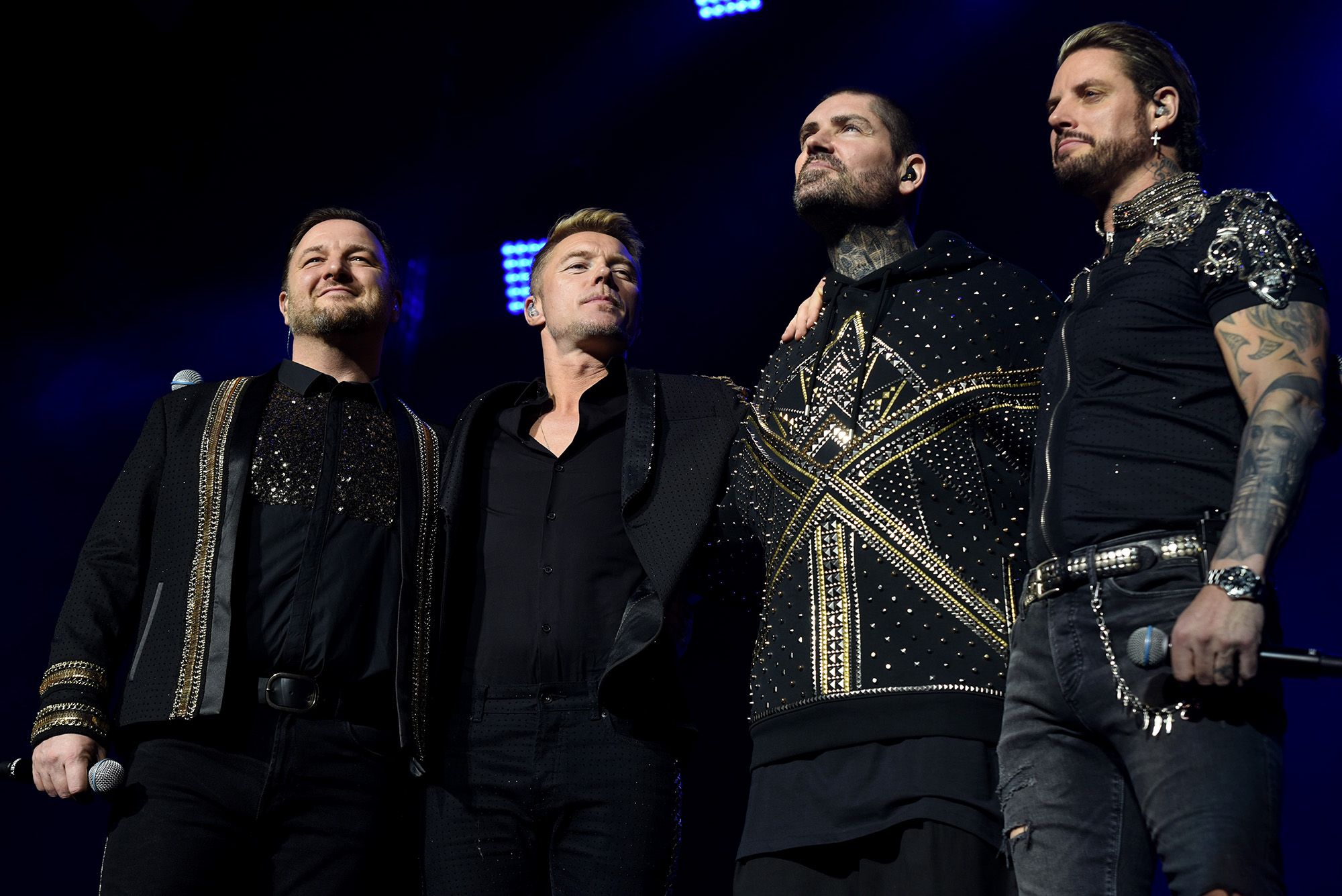 BOYZONE AT LEEDS ARENA