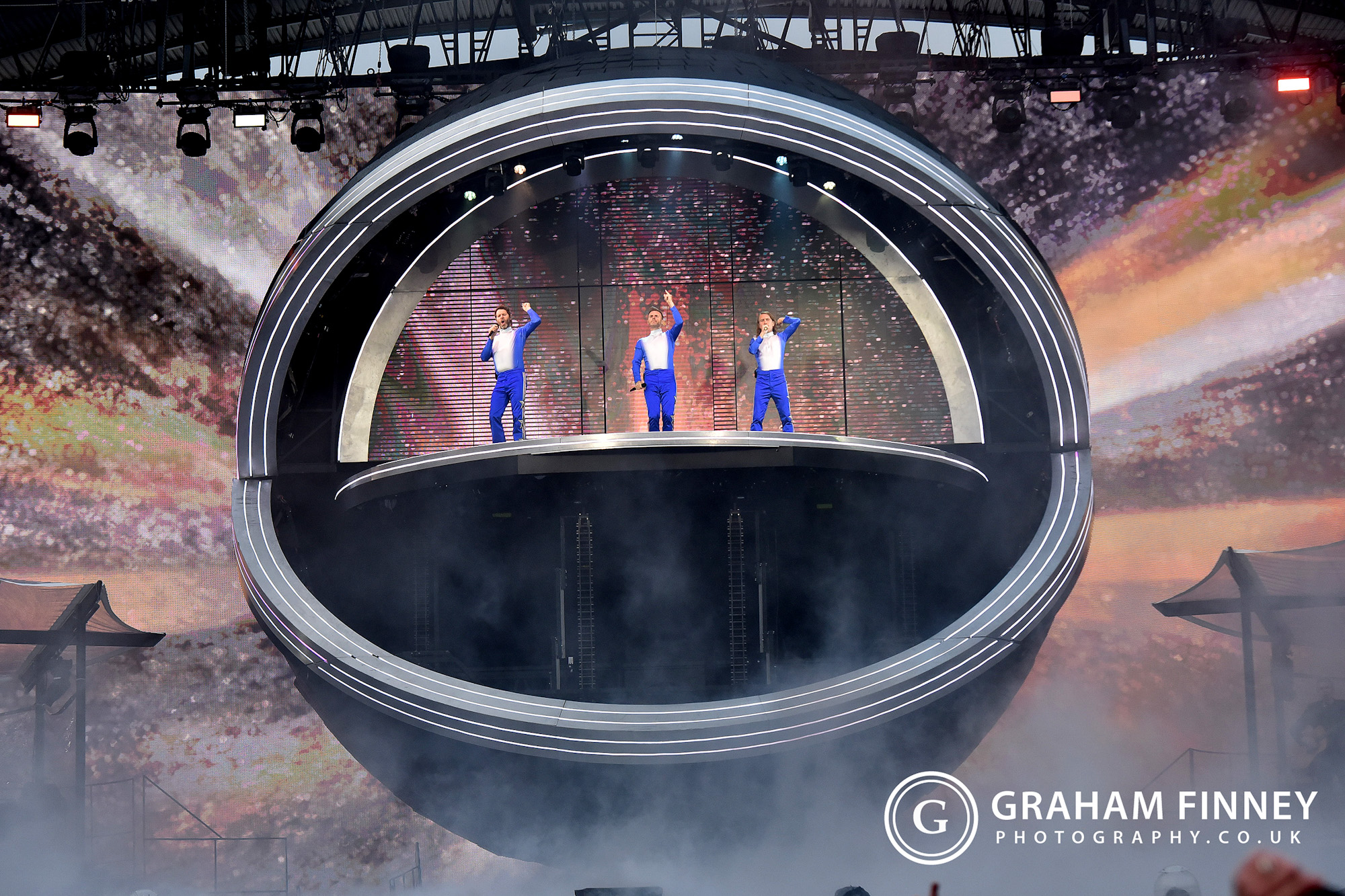 Take That at John Smiths Stadium, Huddersfield, 2019
