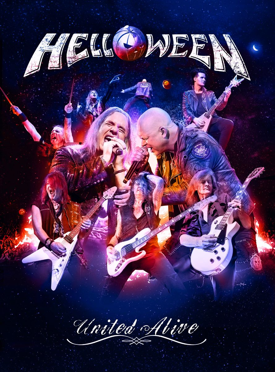 HELLOWEEN – to release live album and DVD 'United Alive in Madrid' on October 4th