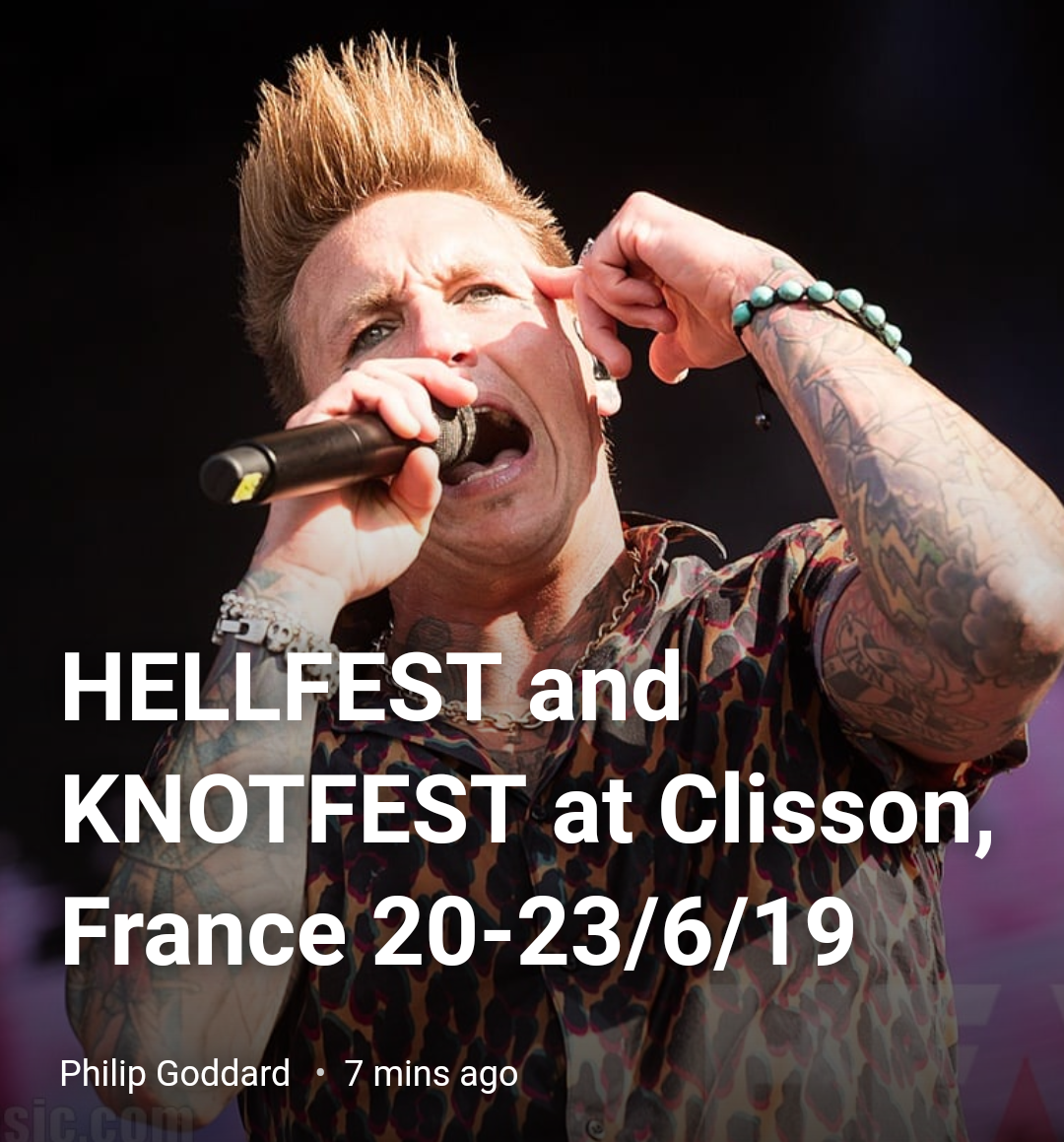 Knotfest/Hellfest 2019 with HeavyMag