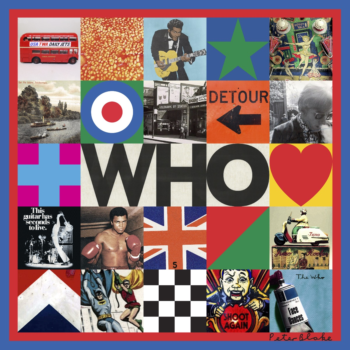 THE WHO 'WHO' BRAND NEW ALBUM FROM THE LEGENDARY ROCK BAND RELEASED 22NDNOVEMBER 2019  ON POLYDOR RECORDS