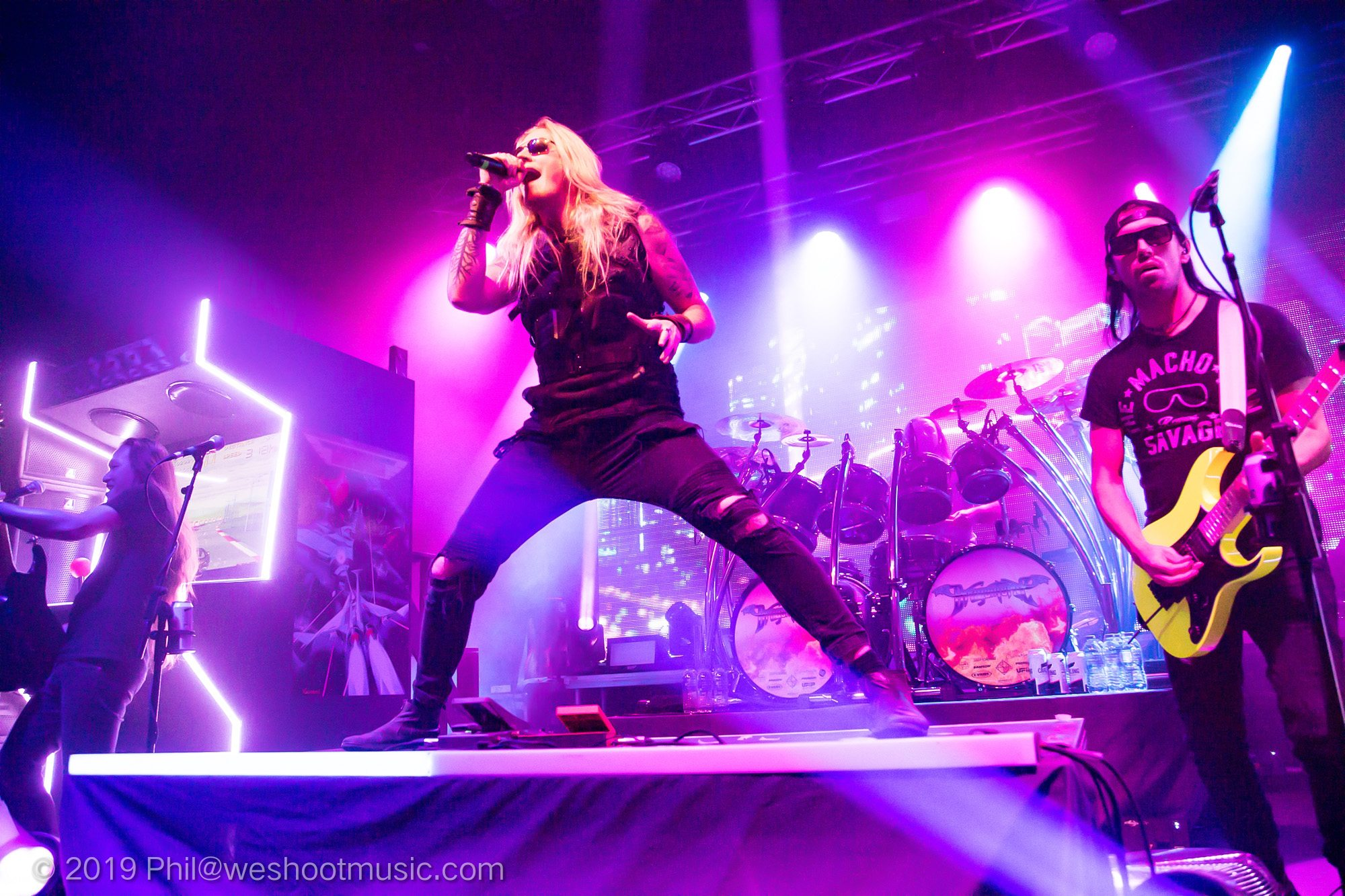 Dragonforce at Manchester Academy 2