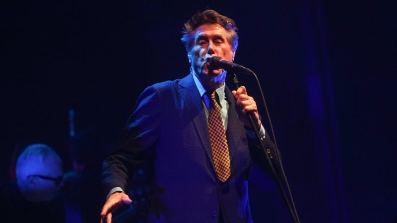 Bryan Ferry at Manchester Palace Theatre, Photo Gallery