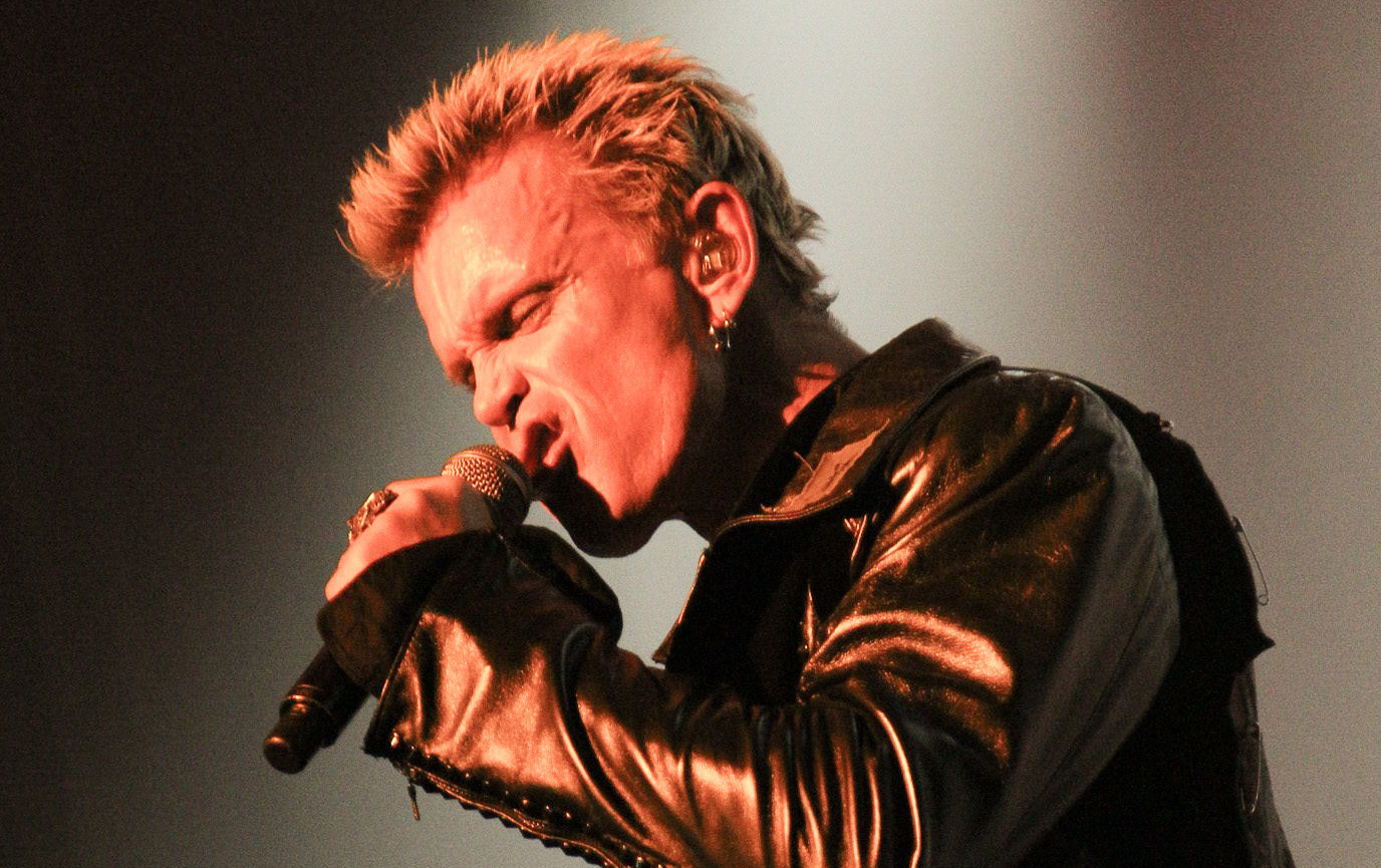 Throwback : Billy Idol at Manchester Apollo 2015