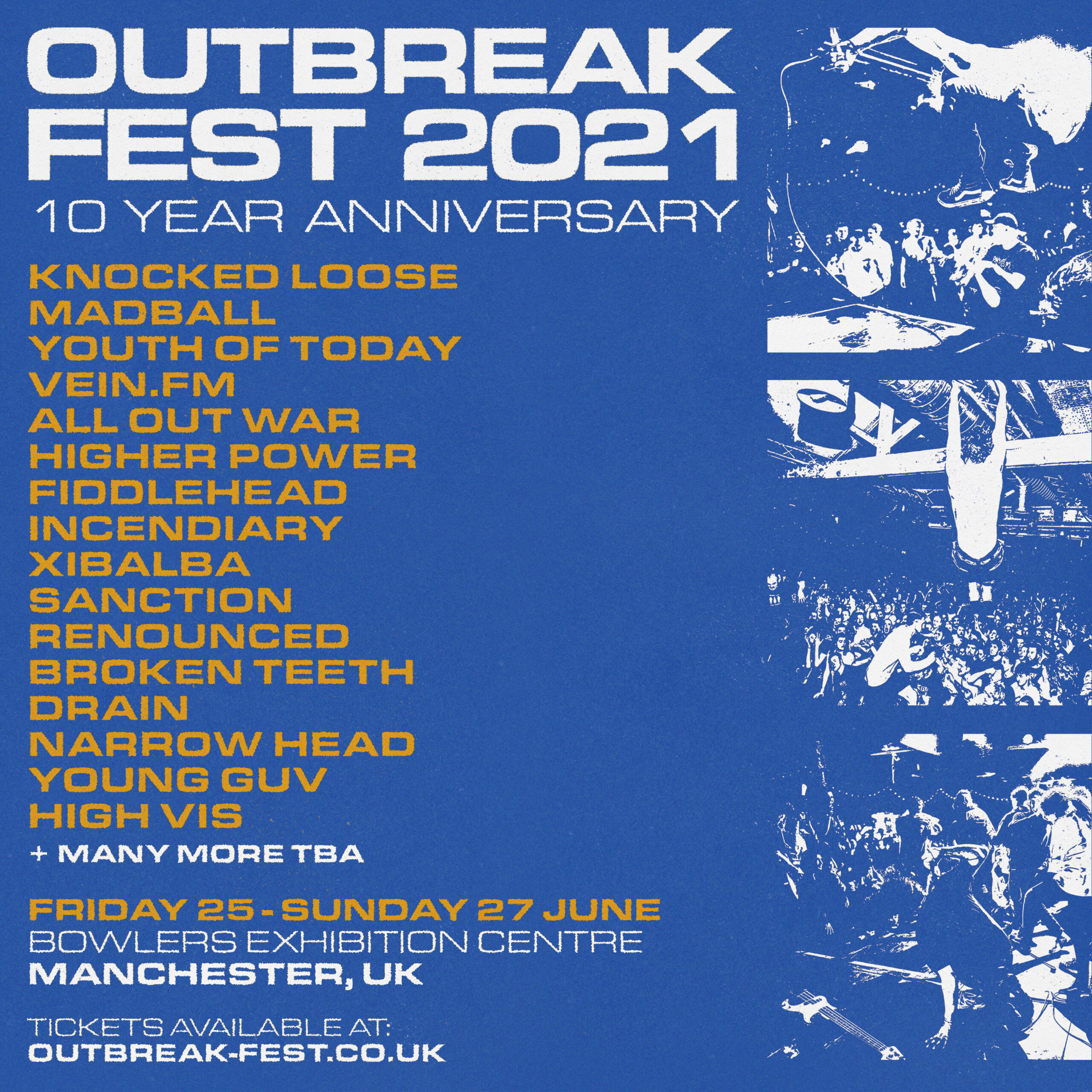 OUTBREAK FEST – 10 YEAR ANNIVERSARY