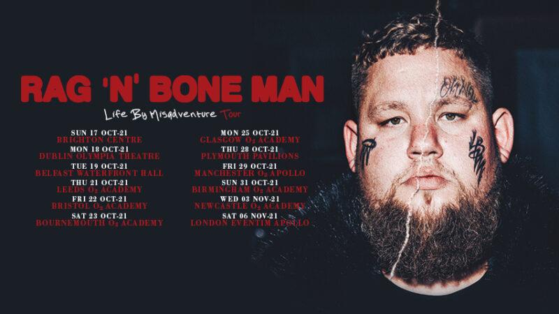 Rag'n'Bone Announces Autumn UK Tour Dates