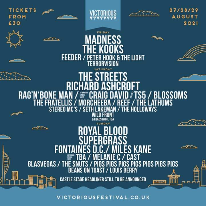 Victorious Festival in Portsmouth.